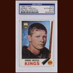 Dennis Hextall 1969 Topps – Los Angeles Kings – Autographed – PSA/DNA