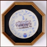 1983-84 Edmonton Oilers Stanley Cup Champions Ceramic Collector's Plate