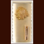 Bill White Chicago Blackhawks Early 1970's Money Clip – The Bill White Collection – Bill White Letter