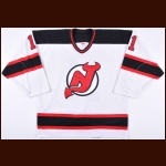 2001-02 John Madden New Jersey Devils Game Worn Jersey