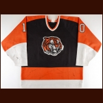 1995-96 Mike Eley Medicine Hat Tigers Game Worn Jersey