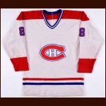 1980-82 Doug Risebrough Montreal Canadiens Game Worn Jersey