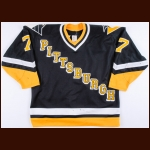 1993 Joe Mullen Pittsburgh Penguins Game Worn Jersey