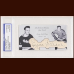 Lynn Patrick Autographed Card - The Broderick Collection - Deceased