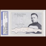 Cy Denneny Autographed Card - The Broderick Collection - Deceased