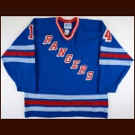 1991-92 Doug Weight Binghamton Rangers Game Worn Jersey – Rookie