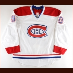 2011-12 Philippe Lefebvre Montreal Canadiens Pre-Season Game Worn Jersey – Rookie – Team Letter