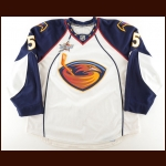 "2007-08 Steve McCarthy Atlanta Thrashers Game Worn Jersey – ""2008 All Star"" – Photo Match – Team Letter"