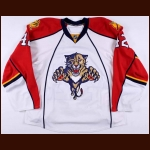 2008-09 Steve MacIntyre Florida Panthers Pre-Season Game Worn Jersey – Team Letter