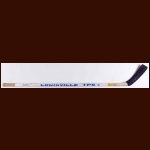 Adam Graves Edmonton Oilers White Louisville Game Used Stick – Autographed – Stanley Cup Season