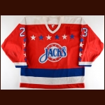 1989-90 Rob Murray Baltimore Skipjacks Game Worn Jersey