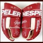 Igor Larionov Detroit Red Wings Hespeler Game Worn Gloves