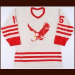 1972 WHA Miami Screaming Eagles Prototype Jersey