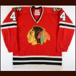 1972-73 Doug Jarrett Chicago Blackhawks Stanley Cup Finals Game Worn Jersey
