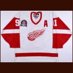 "Sergei Fedorov Detroit Red Wings Autographed Authentic Jersey – ""1997 Stanley Cup Finals"" PSA/DNA"