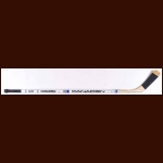 Don Maloney New York Rangers White Canadien Game Used Stick