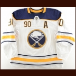 2017-18 Ryan O'Reilly Buffalo Sabres Game Worn Jersey - Photo Match