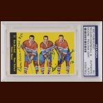 Montreal Canadiens Standouts 1960 Topps – Don Marshall, Henri Richard & Dickie Moore (Deceased) – Autographed – PSA/DNA