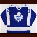 1983-84 Pat Graham & Mid 1980's Todd Gill Toronto Maple Leafs Game Worn Jersey