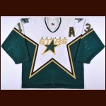 2002-03 Bill Guerin Dallas Stars Game Worn Jersey - Photo Match