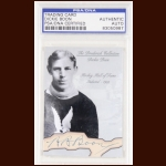 Dickie Boon Autographed Card - The Broderick Collection - Deceased