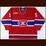 "1999-00 Dainius Zubrus Montreal Canadiens Game Worn Jersey - ""Game One 2000"""