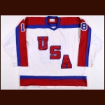 1984 Al Iafrate Team USA Pre-Olympic Game Worn Jersey - The St. Paul, Minnesota Collection