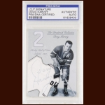Doug Harvey Autographed Card - The Broderick Collection - Deceased