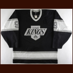 1988-89 Bernie Nicholls Los Angeles Kings Game Worn Jersey - 70-Goal & 150-Point Season – All Star Season