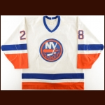 1988-89 Bob Bassen/Wayne McBean Game Worn Jersey & 1991-92 Tom Kurvers York Islanders Pre-Season Game Worn Jersey