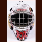 Brandon Hope Owen Sound Attack and Niagara IceDogs Game Worn Mask – Photo Match