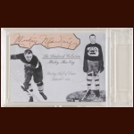 Mickey MacKay Autographed Card - The Broderick Collection - Deceased