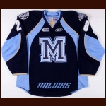 2011-12 Stuart Percy Mississauga St. Michael's Majors Game Issued Jersey