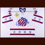 2005-06 Phil Osaer Rochester Americans Game Worn Jersey - Golden Anniversary Season