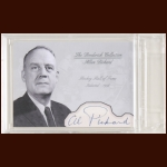 Al Pickard Autographed Card - The Broderick Collection - Deceased