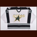 1997-98 Ed Belfour Dallas Stars Game Worn Jersey