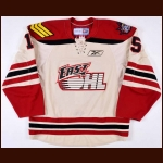 "2009 Evgeny Grachev Team East OHL All Star Game Worn Jersey – ""2009 All Star Classic"" - OHL Letter"