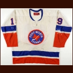1975-76 Bryan Trottier New York Islanders Game Worn Jersey – Rookie - Calder Trophy - Photo Match