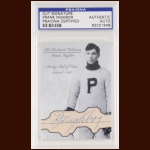 Frank Nighbor Autographed Card - The Broderick Collection - Deceased