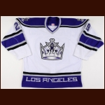 2002-03 Brad Chartrand Los Angeles Kings Game Worn Jersey
