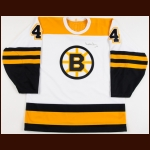 Bobby Orr Boston Bruins Autographed Replica Jersey – The Patrick Roy Collection – Patrick Roy Letter