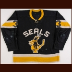 Mid 1960's San Francisco/California Seals WHL Game Worn Jersey – Player #3