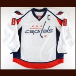 2013-14 Alex Ovechkin Washington Capitals Game Issued Jersey