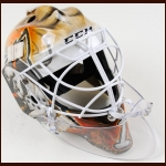 Jonathan Bernier Anaheim Ducks CCM/Lefebvre Game Worn Mask – Bernier's 1st Ducks Mask - Autographed - Photo Match – Also Includes Carrying Case - Autographed - The Jonathan Bernier Collection – Jonathan Bernier Letter