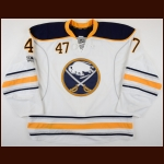 2016-17 Zach Bogosian Buffalo Sabres Game Worn Jersey – Team Letter