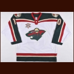 "2005-06 Marian Gaborik Minnesota Wild Game Worn Jersey – ""5-year"""