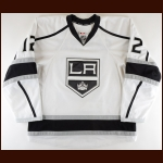 2013-14 Marian Gaborik Los Angeles Kings Game Worn Jersey - Stanley Cup Season - Photo Match – Team Letter