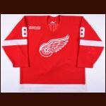 1999-00 Igor Larionov Detroit Red Wings Game Worn Jersey