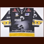 2003-04 Terry Yake Krefeld Penguins Game Worn Jersey