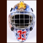 John Chartrand Barrie Colts Game Worn Mask – 2010-11 - Photo Matched